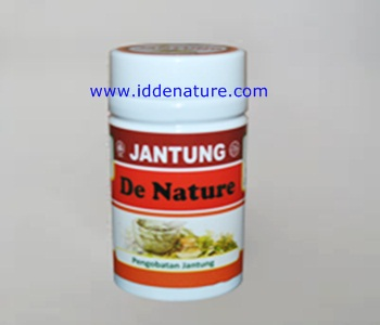 Obat Jantung Koroner Herbal de Nature