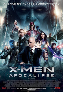 "Poster do filme ""X-Men: Apocalipse"""