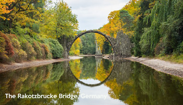 The Rakotzbrucke Bridge