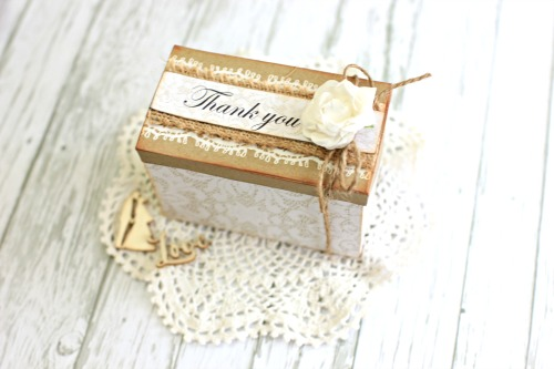 Kaisercraft Always and Forever Wedding Bonbonneire by Alicia McNamara
