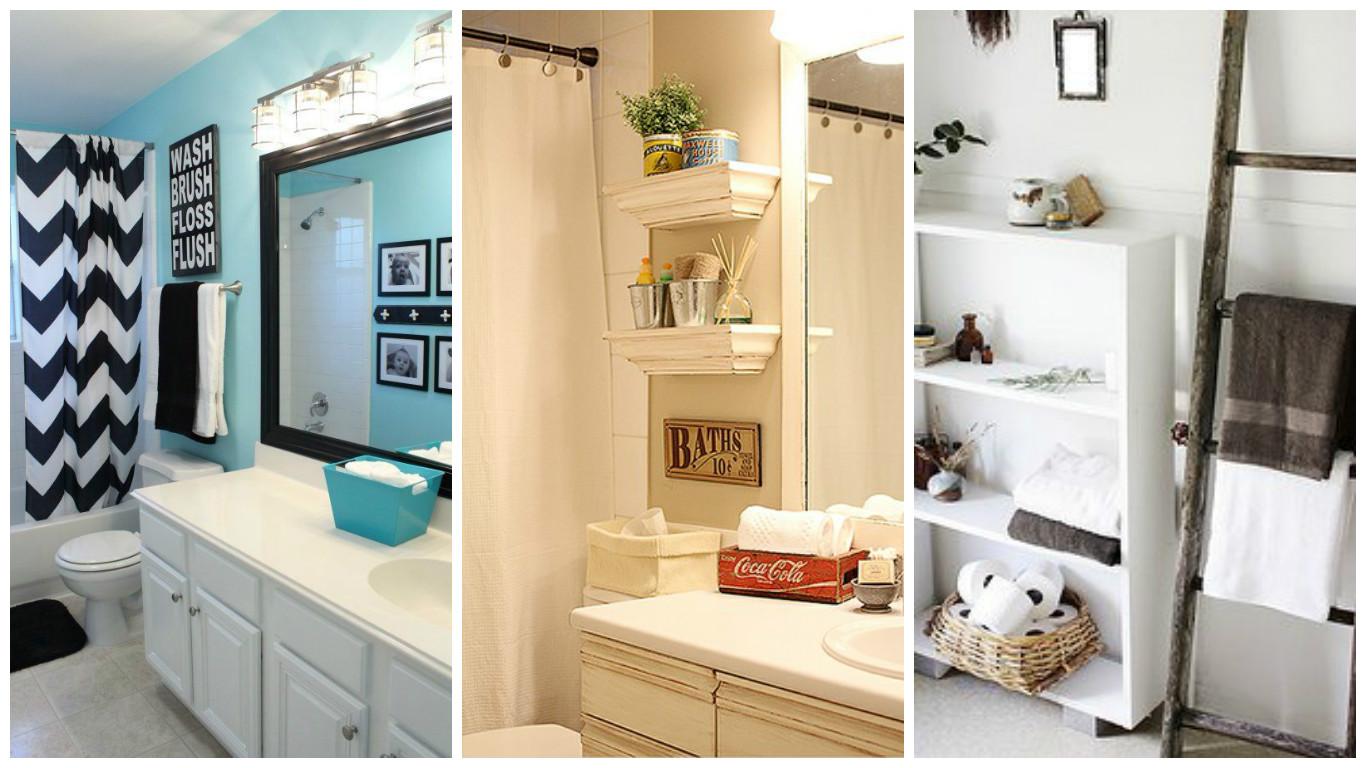 Diário de Bordo DIY tapete de banheiro de spa + Inspirações para dar um up  -> Decoracao Banheiro Diy