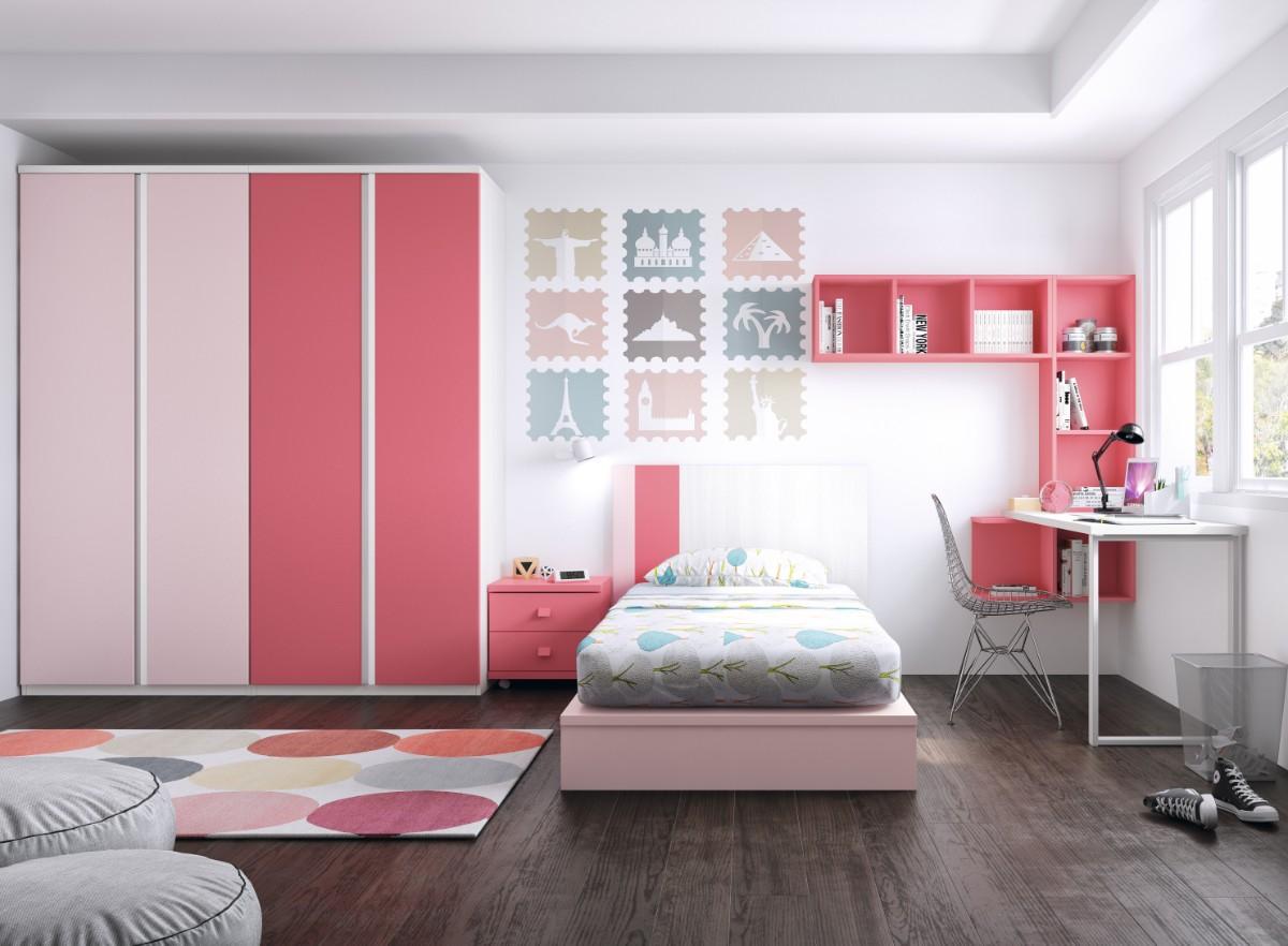 Habitaci n infantil con tatami 1431 - Dormitorios infantiles valencia ...