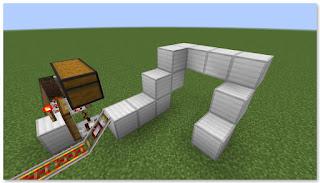 Minecraft トロッコ輸送 積み込み駅 複線 作り方②