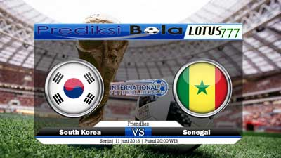 Prediksi South Korea vs Senegal 11 Juni 2018