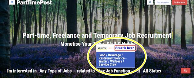 Semester Break Waiter Part Time Job in PartTimePost