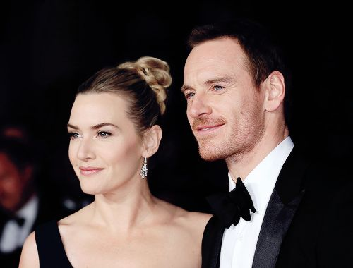 Michael Fassbender & Kate Winslet attending a gala screening of Steve Jobs  on the closing night of the BFI London Film Festival, October 18th.