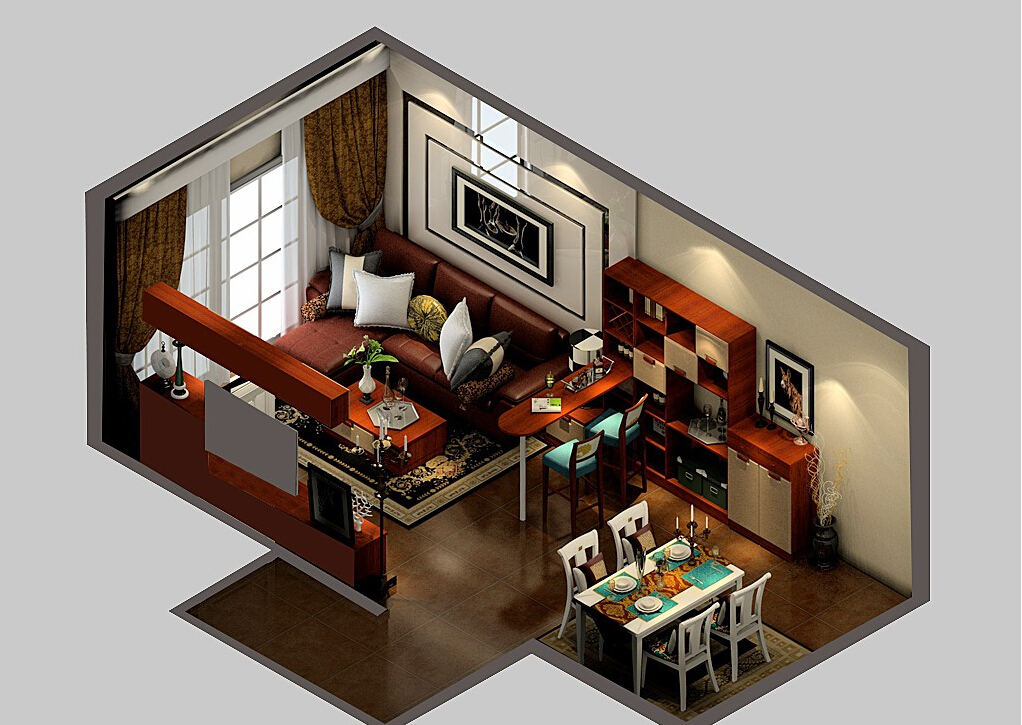 1Living-Room-And-Bar-Design-Masterly-Image-Of-with-Living-Room-And-Bar-Design 35 Sky View 4D American House Plan Styles Interior