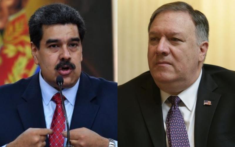 """Mike Pompeo: """"Maduro y sus cómplices se tienen que ir de Venezuela"""""""