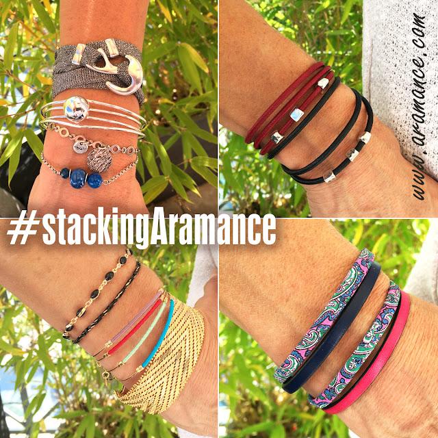 Les bracelets Aramance