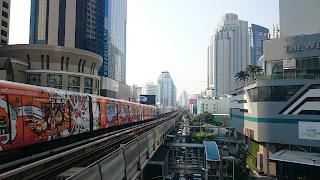 BTS Asoke Bangkok