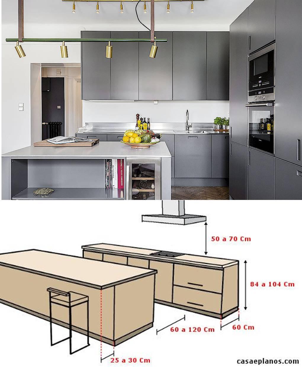 Cozinha Grande Com Ilha Pode Ser Moderna Clssica Ou Rstica Como