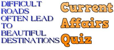 Current Affairs Quiz (Sep/Oct 2016)