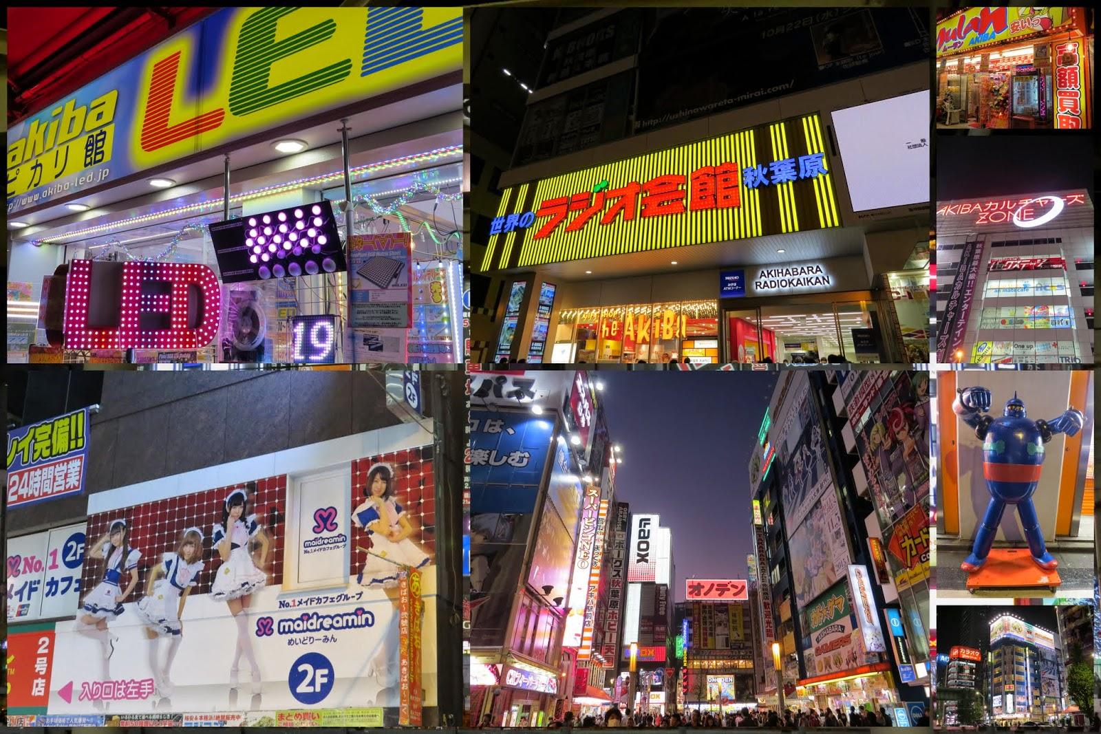 Tokyo neighborhoods: Akhiabara