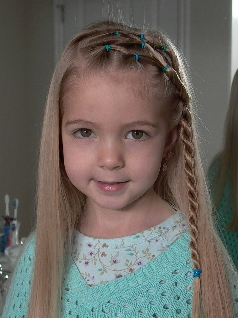 Braids For Little Girl's Hair : Everything About Fashion