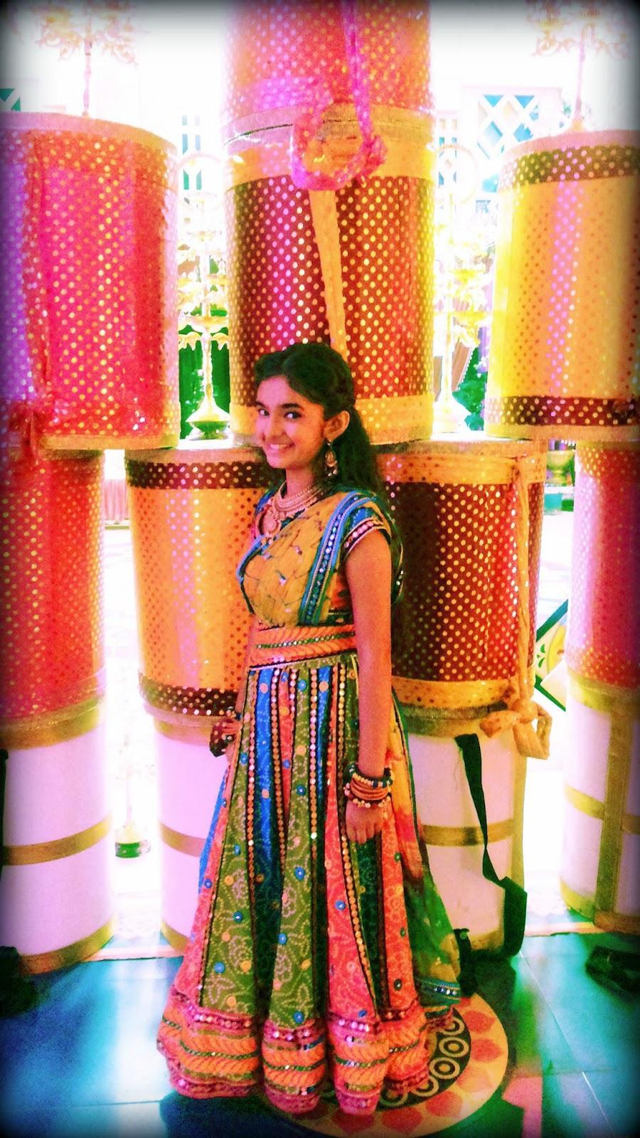 Anushka Sen (Meher) - Balveer : Cute Anushka Sen Pictures - Meher