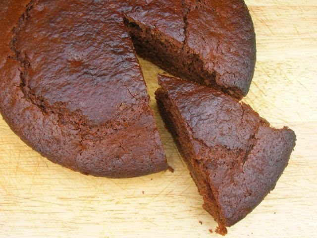 Vegan Chocolate Banana Cake