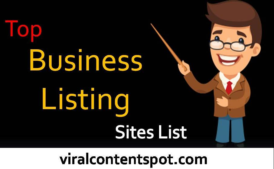 Top Business Listing Sites List USA and India 2018 - Viral