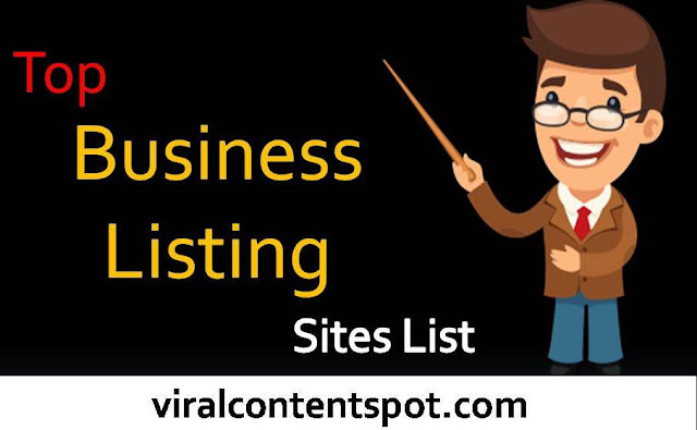 Top Business Listing Sites List