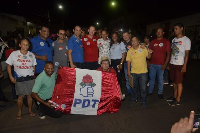 Lideranças do PDT de Paço do Lumiar saem forte das eleições 2018 e caminham para 2020