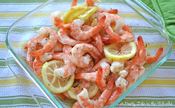 Roasted Lemon Garlic Shrimp