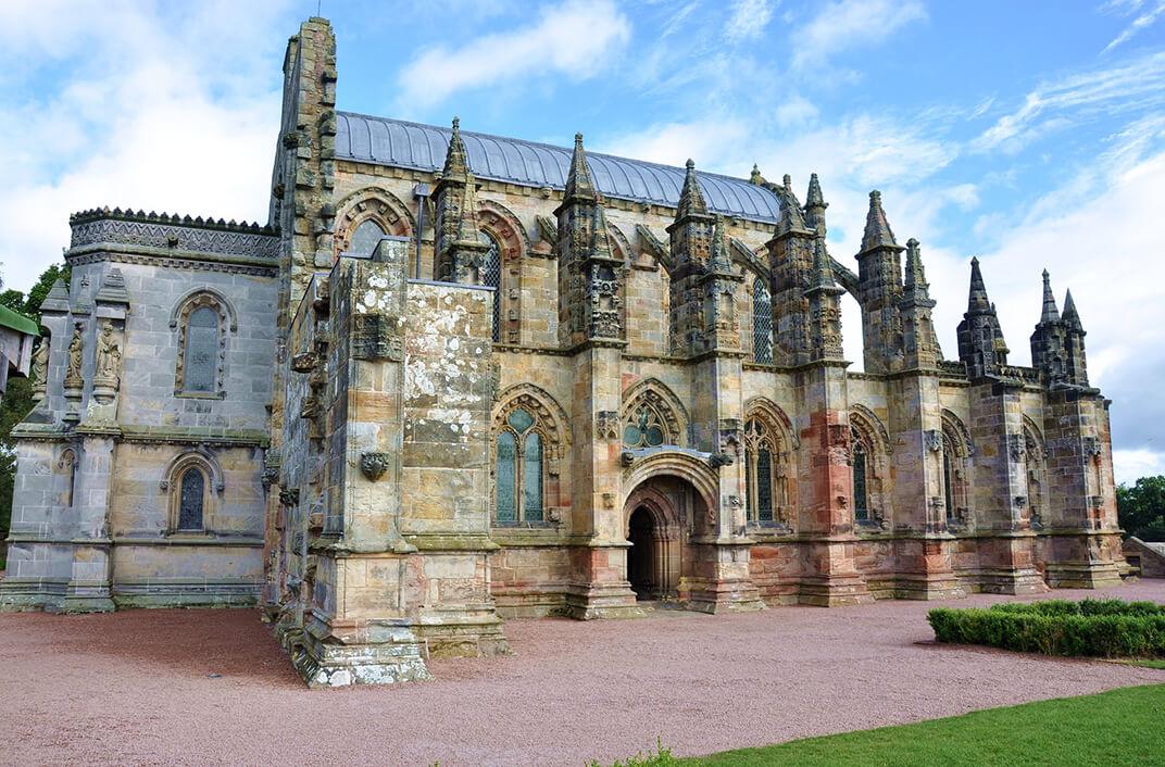 Rosslyn Chapel en Escocia