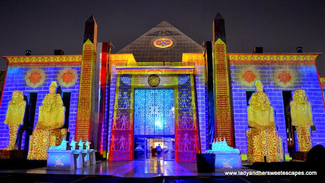 Ramadan Light and Sound Show 7 at Wafi