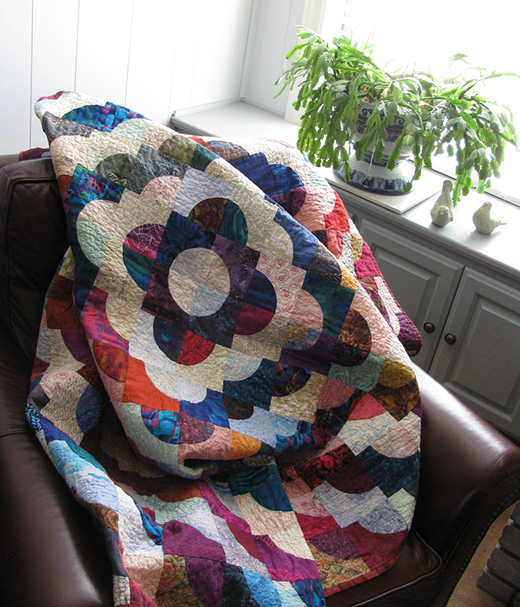 Love Rings Quilt Free Pattern designed by Darlene C. Christopherson of Pellon Projects