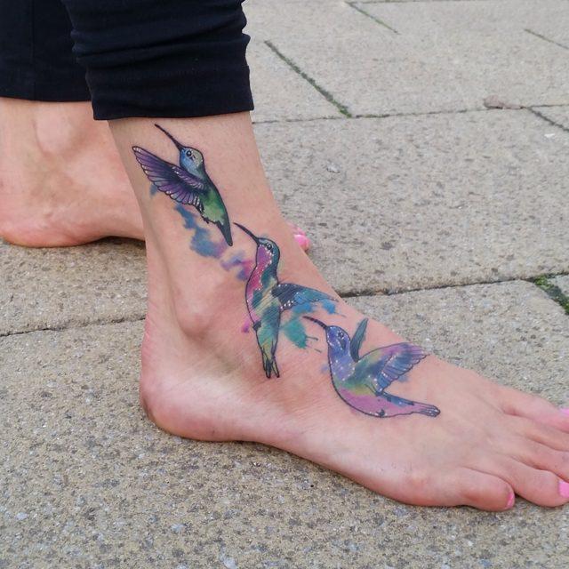 Tatuagens de Beija-Flor