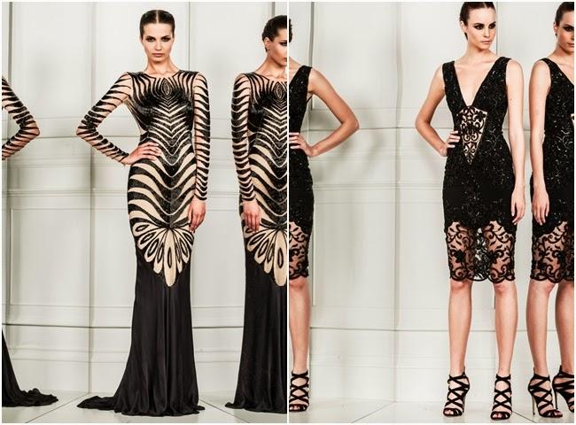 Zuhair Murad black sexy dresses