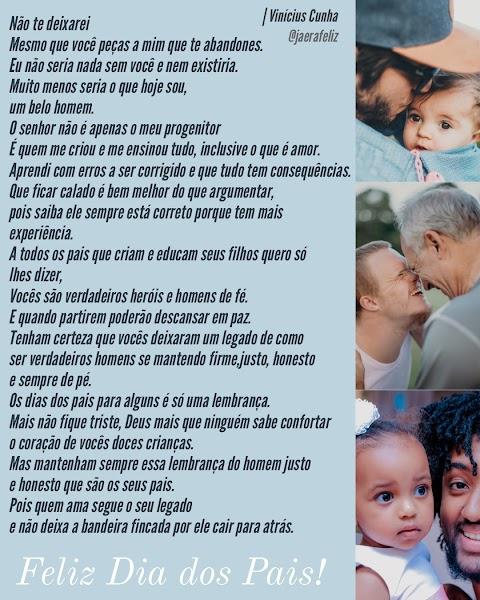 FELIZ DIA DOS PAIS | Por Marcos Vinícius