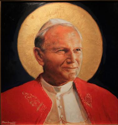 Imagem de São João Paulo II, pintura, #1