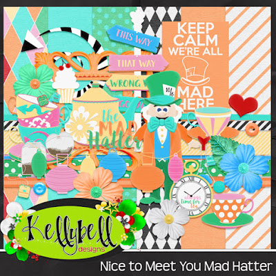 Kellybell Nice to Meet You Mad Hatter Freebie