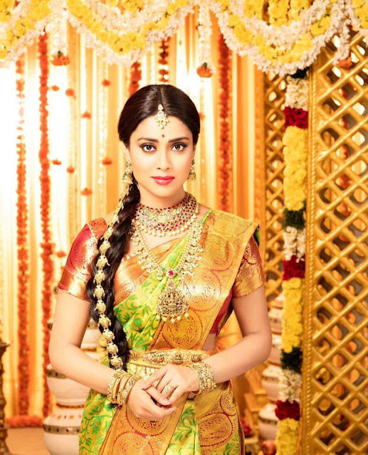 Shriya Saran Latest Saree Stills
