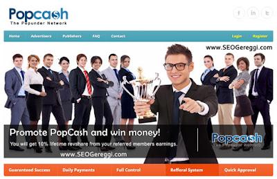 Cara Mudah Mendapatkan Dollar Dari PopCash.net