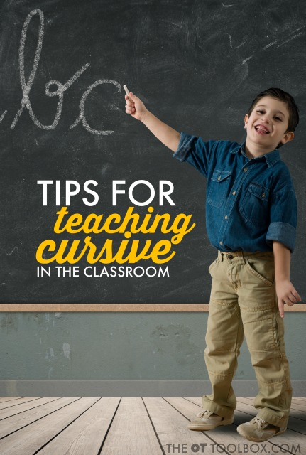 Try these tips and tricks for teaching cursive in the classroom