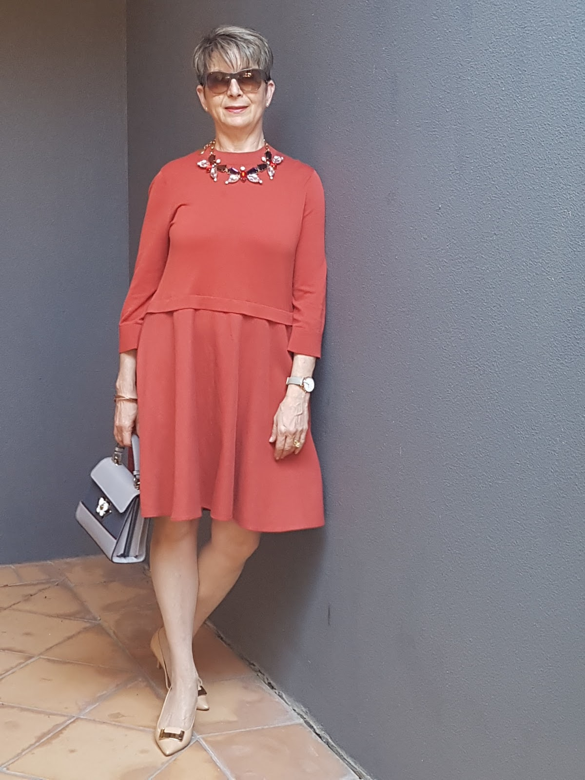 Looking Fabulous @ Fifty: A TRANSITIONAL DRESS
