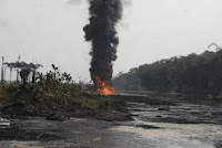 AS EXPLOSION ROCKS NGC PIPELINE - CONFUSION IN WARRI