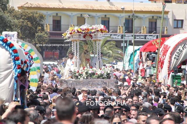 Procesión de la Morenita en Abril