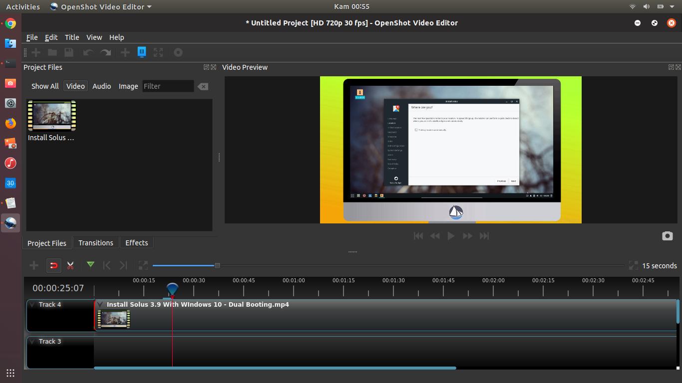 OpenShot Video Editor 2 4 3 Released, Install on Ubuntu 18 04/16 04