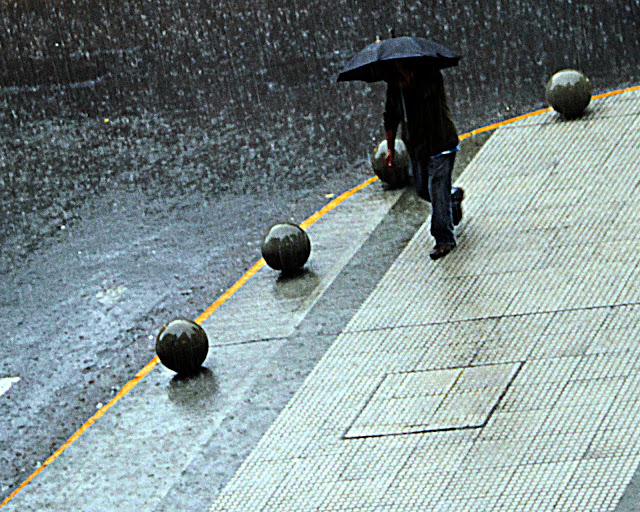 Foto.Día de lluvia.