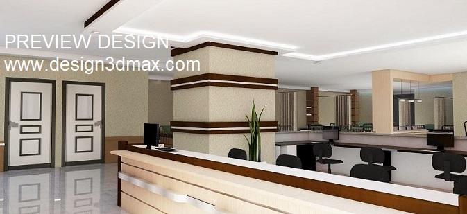 Anda Ingin Dibuatkan Desain Interior Klinik Ruang Tunggu Berobat Rumah Sakit Secara Online Tanpa Susah Payah Untuk Datang Ke Lokasi Kami Cukup Dengan