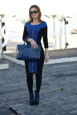 355b7a7a1b Blue like my new Balenciaga bag !