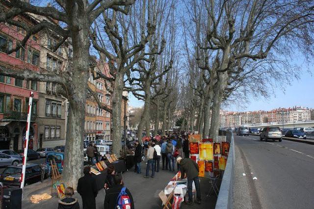 Compras na Feira em Lyon