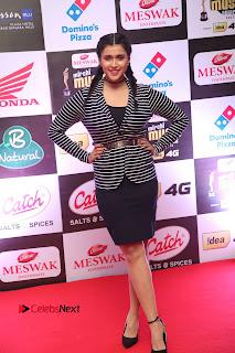 Actress Mannara Chopra Pictures at Mirchi Music Awards South 2015  0060