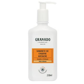 sabonete liquido enxofre triclosan granado