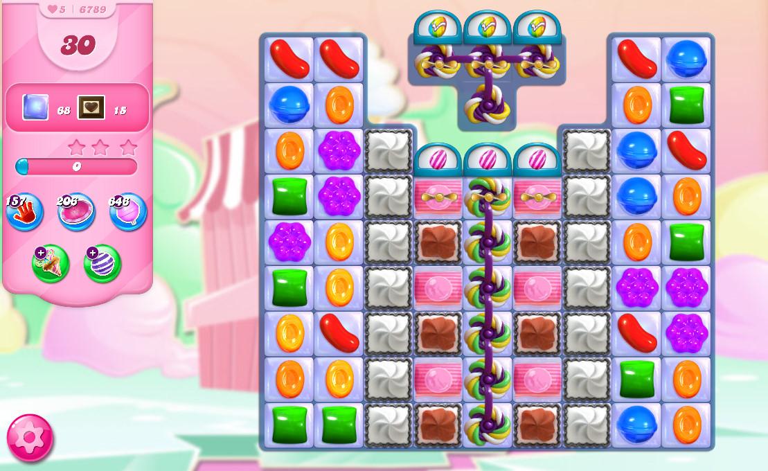Candy Crush Saga level 6789