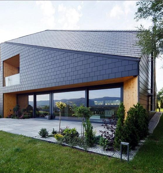 rumah minimalis atap bitumen aspal