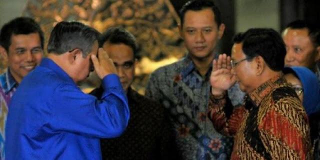 Prabowo Dikabarkan Kembali Bertemu SBY