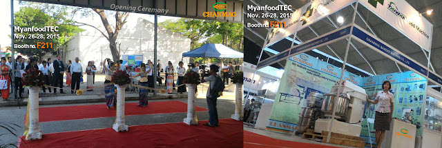 CHANMAG thank you for visiting us at 2015 MyanfoodTEC