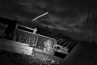 UFO Footage Caught on Trail Cam Over Lincolnshire Allotments (UK) - May 2014